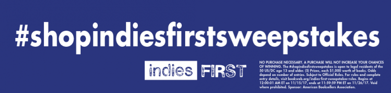 shop indies first sweepstakes 2017