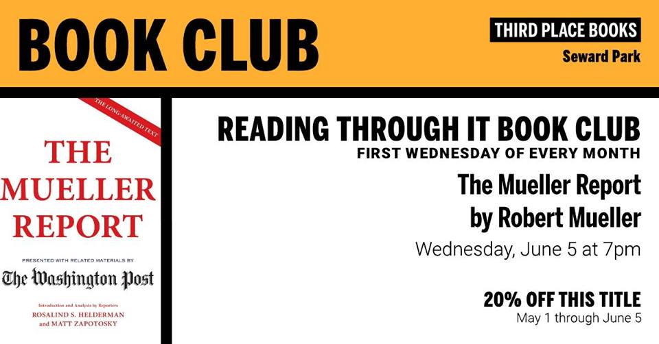 Reading Through It Book Club - The Mueller Report