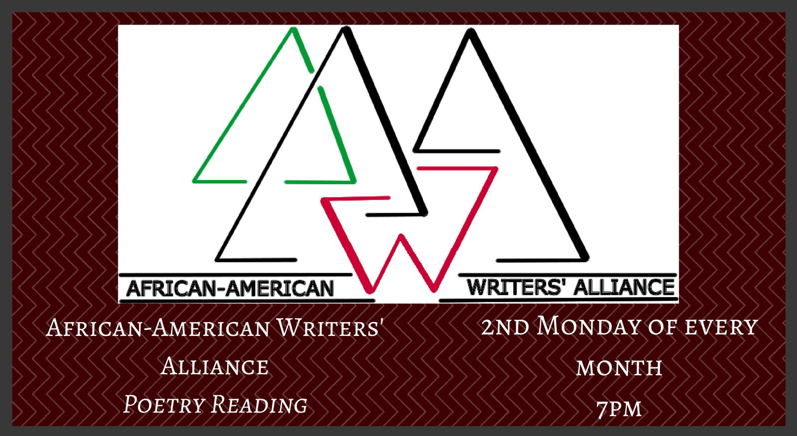African-American Writers' Alliance Poetry Reading