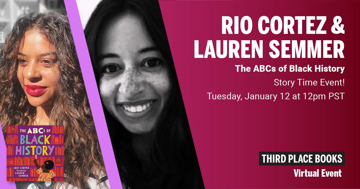 Live on Zoom! Rio Cortez & Lauren Semmer - The ABCs of Black History