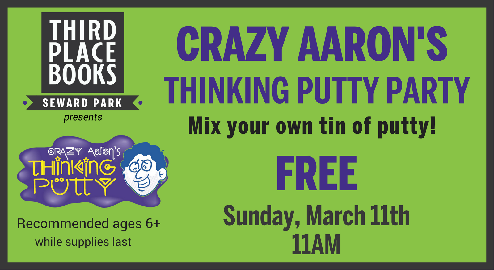 Crazy Aarons's Thinking Putty Party