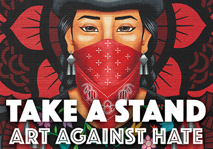 Seattle Public Library: Various readers including Tiffany Midge - Take a Stand: Art Against Hate (A Raven Chronicles Anthology)