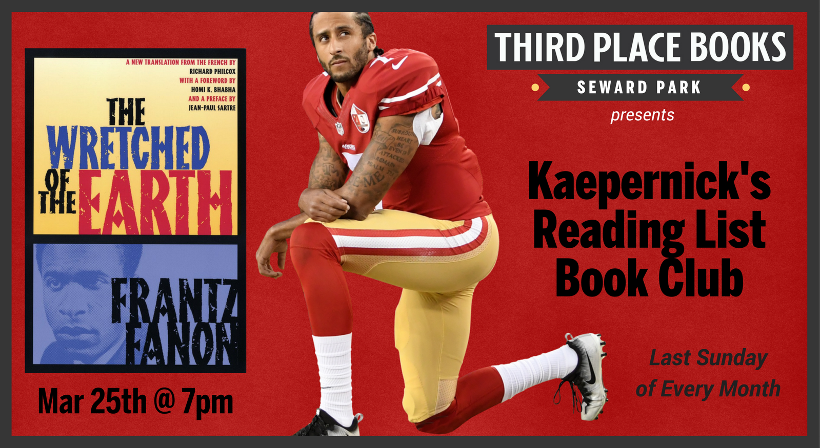 Kaepernick's Reading List Book Club - The Wretched of the Earth