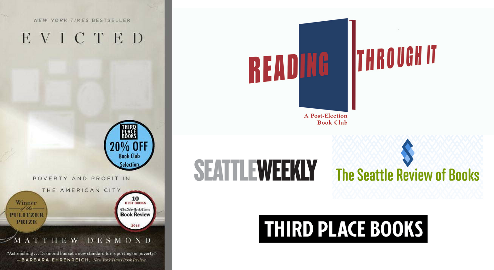 Reading Through It Book Club - Evicted | Third Place Books