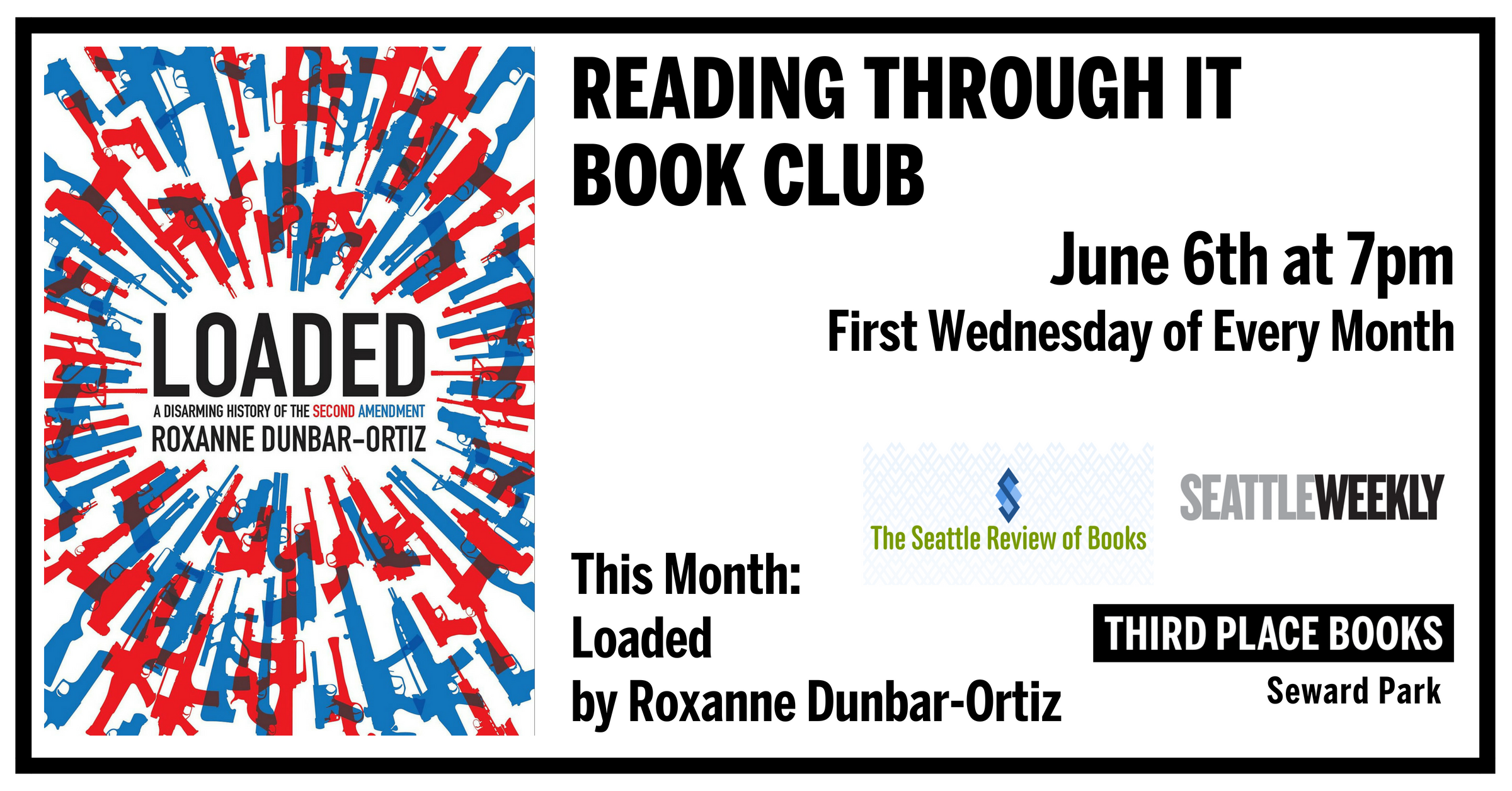 Reading Through It Book Club - Loaded on Wednesday, June 6th at 7pm