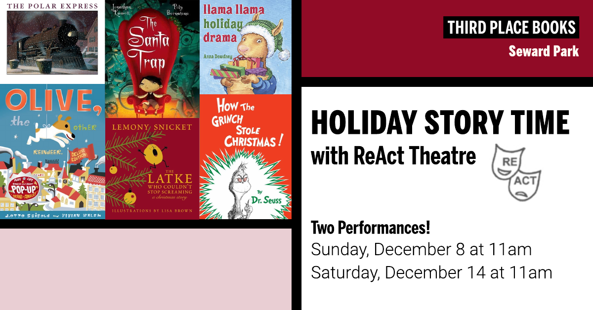 Holiday Story Time with ReAct Theatre