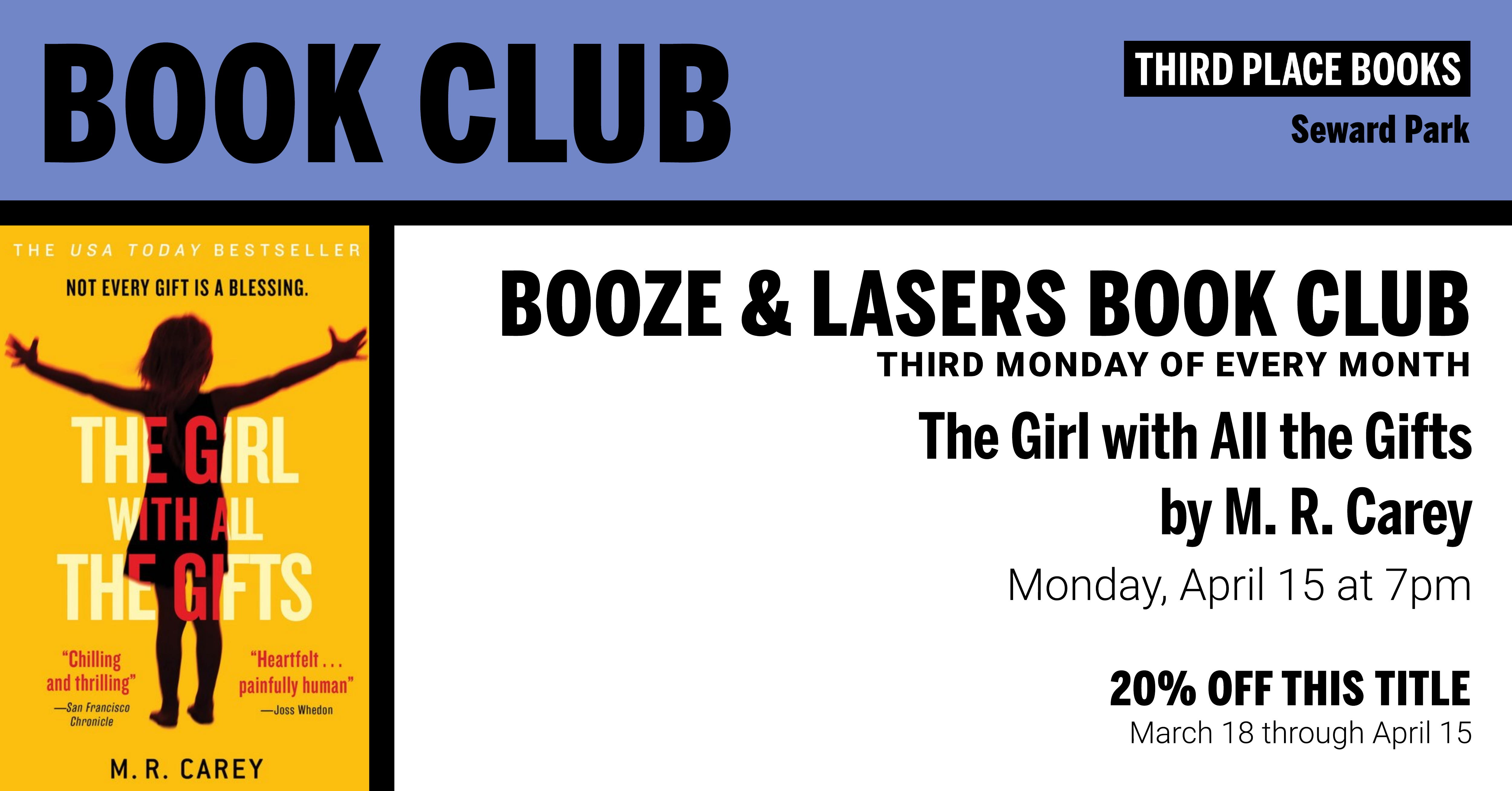 Booze & Lasers - The Girl With All the Gifts