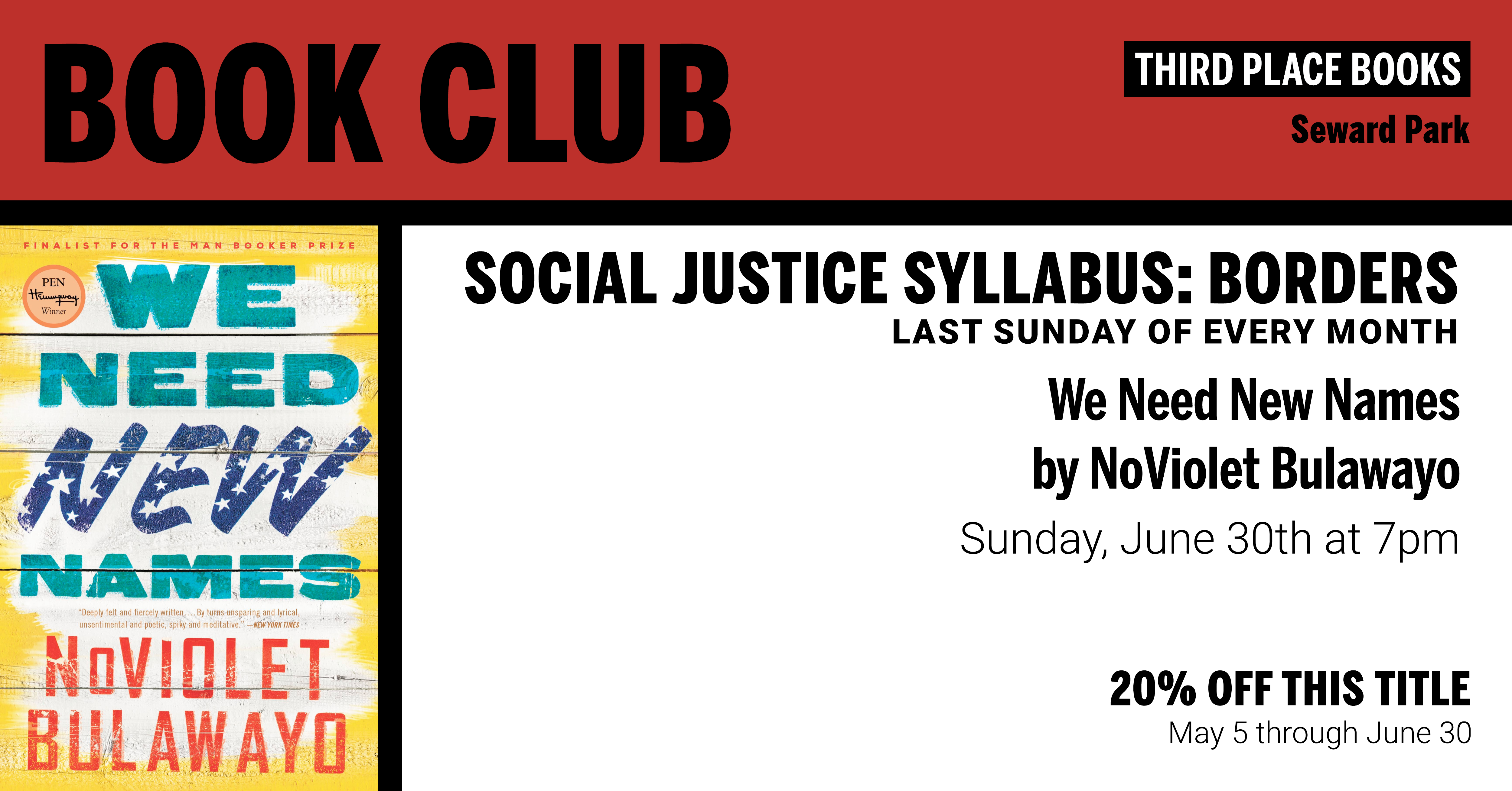 Social Justice Syllabus: Borders reading We Need New Names