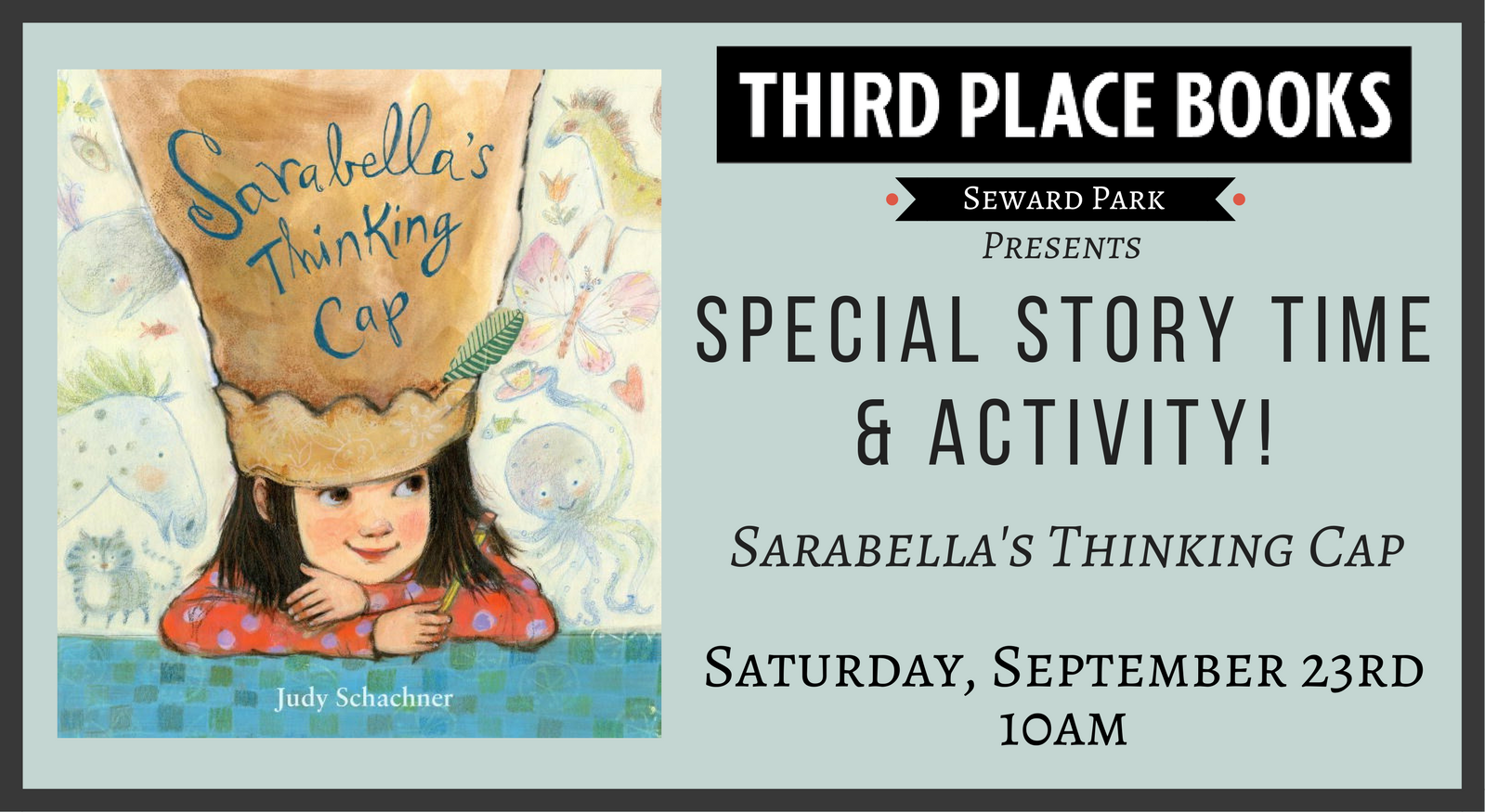 Special Story Time: Sarabella's Thinking Cap