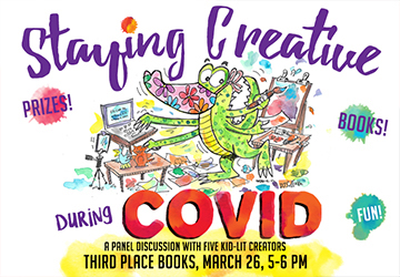 Live on Zoom! Staying Creative and Finding Inspiration During Stressful Times, with Kathryn Thurman, Trudi Trueit, Jing Jing Tsong, Barbara Davis Pyles, and Dana Sullivan