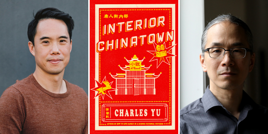 KCLS Livestream: Charles Yu, in conversation with Ted Chiang - Interior Chinatown