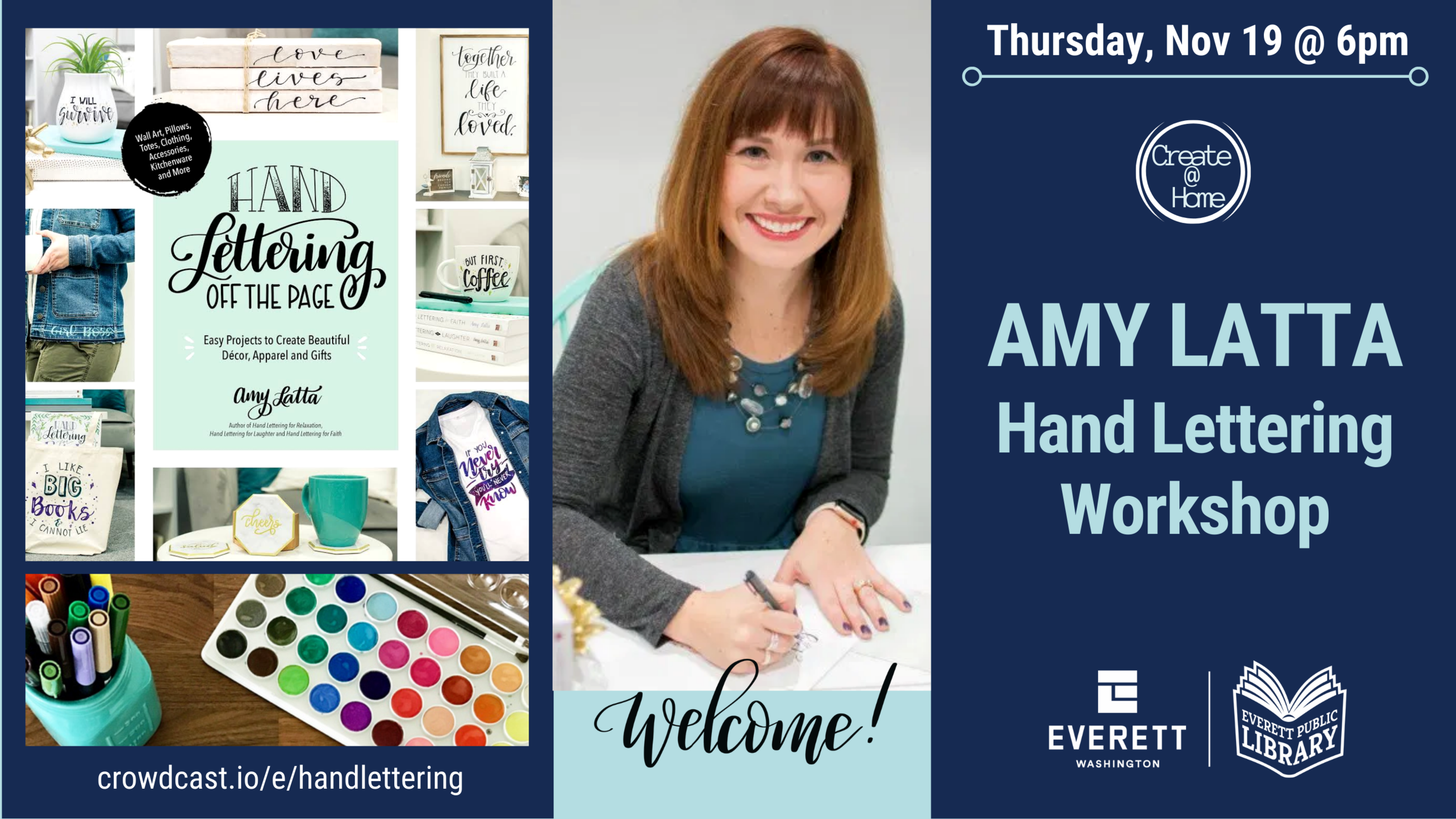 EPLS Livestream: Amy Latta -  Hand Lettering Off the Page