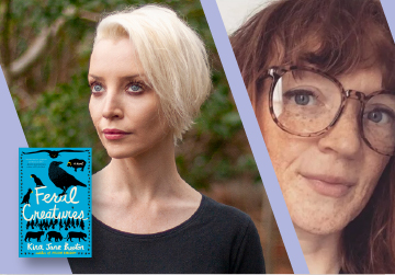 Virtual Event: Kira Jane Buxton with Liberty Hardy — Feral Creatures 8/24/21 at 7pm