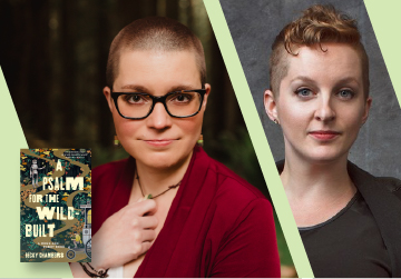 Virtual Event: Becky Chambers with Sarah Gailey on July 15 at 7pm