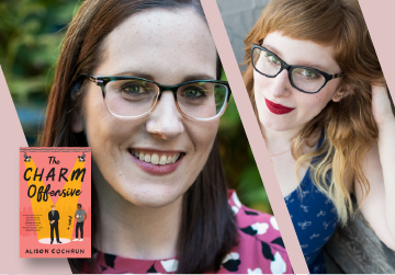 Virtual Event: Alison Cochrun with Rachel Lynn Solomon — The Charm Offensive 9/14/21 at 3pm PST