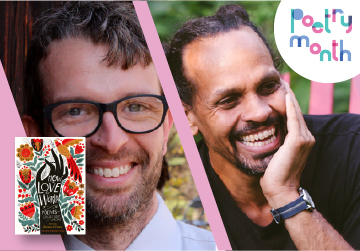 Live on Zoom! James Crews & Ross Gay - How To Love The World - Thursday, April 22 at 5pm PST