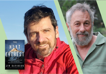 Live on Zoom! Jim Davidson, in conversation with John Calderazzo - The Next Everest