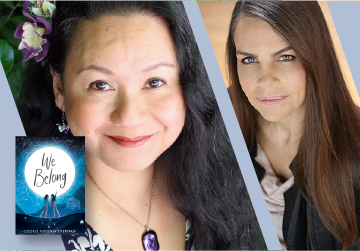 Live on Zoom! Cookie Hiponia Everman, in conversation with Margaret Stohl - We Belong - Tuesday, March 30 at 6pm PST