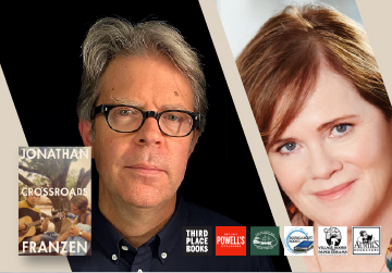 Virtual Event: Jonathan Franzen with Maria Semple — Crossroads 10/12/21 at 6pm PT
