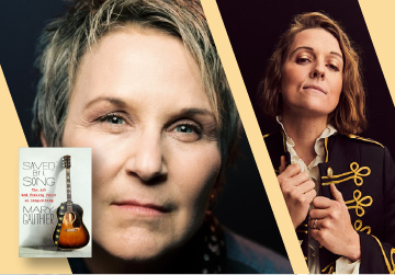 Mary Gauthier in conversation with Brandi Carlile July 12 at 6pm