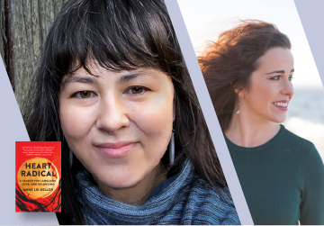 Virtual Event: Anne Liu Kellor with Kristen Millares Young — Heart Radical September 28th at 7pm PT