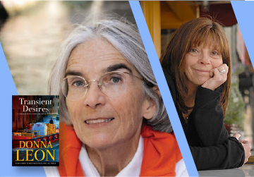 Live on Zoom! Donna Leon, in conversation with Cara Black - Transient Desires (Tickets Required!) - Thursday, March 18 at 1pm PST