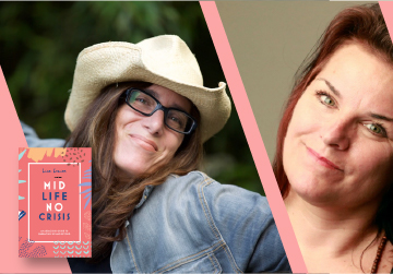 Live on Zoom! Lisa Levine, in conversation with Nicole Brodeur - Midlife, No Crisis - Wednesday, May 5 at 7pm PST