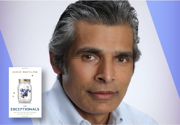 Live on Zoom! Dr. Kumar Mehta - The Exceptionals - Wednesday, February 17 at 7pm PST