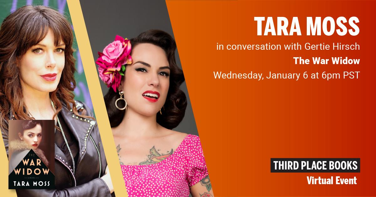 Tara Moss, in conversation with Gertie Hirsch - The War Widow