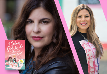 Live on Zoom! Laura Taylor Namey, in conversation with Yamile Saied Méndez - A Cuban Girl's Guide to Tea and Tomorrow - Tuesday, February 9 at 5pm PST