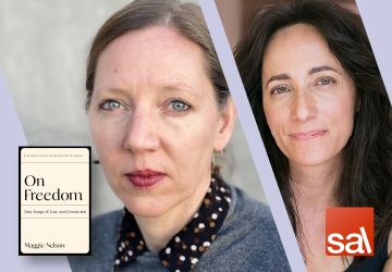 Seattle Arts & Lectures Livestream: Maggie Nelson with Danzy Senna — On Freedom 9/14