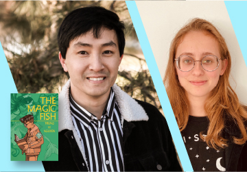 Live on Zoom! Trung Le Nguyen, in conversation with Tillie Walden - The Magic Fish - Friday, February 26 at 6pm PST