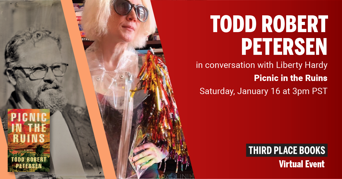 Live on Zoom! Todd Robert Petersen, in conversation with Liberty Hardy - Picnic In The Ruins