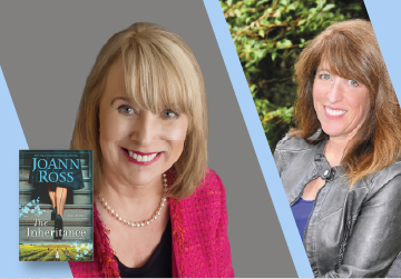 Virtual Event: JoAnn Ross in conversation with Jill Shalvis — The Inheritance 9/17/21 at 7pm PT