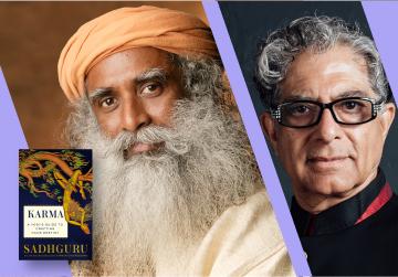 Livestream Event: Sadhguru, in conversation with Deepak Chopra - Karma: A Yogi's Guide to Crafting Your Destiny - Thursday, April 29 at 4pm PST