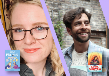 Live on Zoom! Tori Sharp & Ira Marcks - Just Pretend & Shark Summer - Wednesday, May 19 at 7pm PST