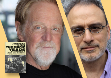 Live on Zoom! Jonathan Taplin, in conversation with William Deresiewicz - The Magic Years - Monday, May 10 at 7pm PST