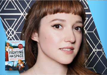 Live on Zoom! Amy Shira Teitel, in conversation with Alli Rosenthal - Fighting for Space - Friday, March 12 at 7pm PST
