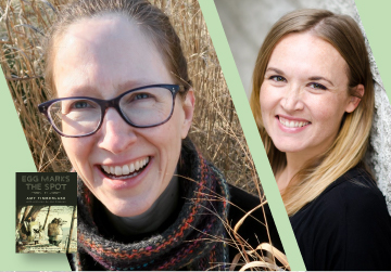 Virtual Event: Amy Timberlake with Liesl Shurtliff — Egg Marks the Spot 9/16/21 6pm