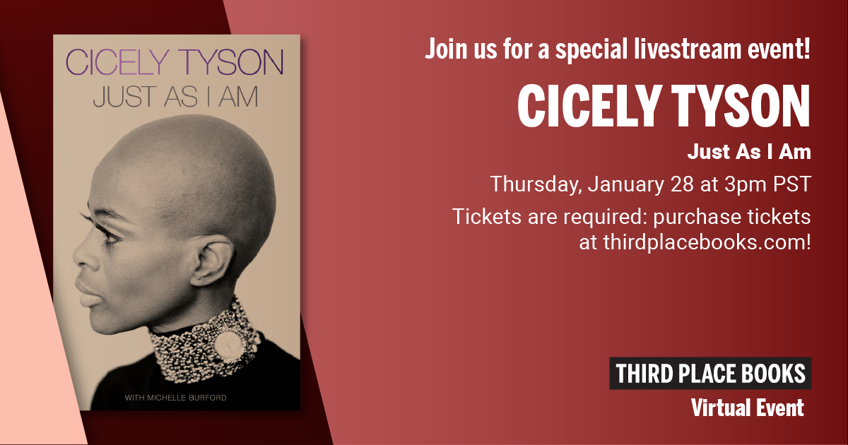 Livestream Event: Cicely Tyson (with Special Guests) - Just As I Am