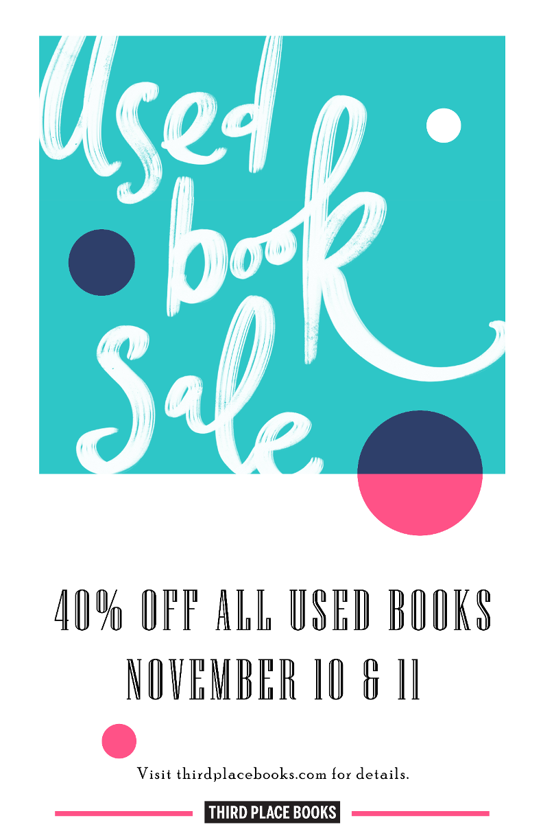 Used Book Sale, November 10th & 11th