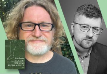 Virtual Event: August 11 2021 at 6pm PST Brian Evenson with Lincoln Michel — The Glassy, Burning Floor of Hell: Stories