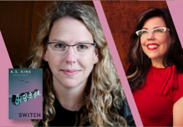 A.S. King, in conversation with Martha Brockenbrough - Switch - Friday, May 14 at 7pm PST