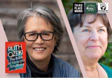 September 22 at 6pm Virtual Event: Ruth Ozeki with Karen Joy Fowler — The Book of Form and Emptiness