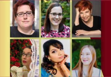 A Romance Day Celebration! 8/21/21 at 6pm Lish McBride, Alison Cochrun, Jayne Ann Krentz, Gail Carriger, Sajni Patel, and Olivia Waite in conversation