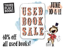 Third Place Books Used Book Sale Summer 2017