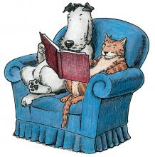 Storytime cat and dog