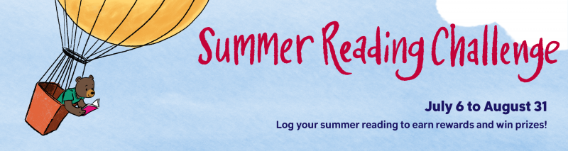 Summer Reading Challenge! Log your reading to earn rewards!